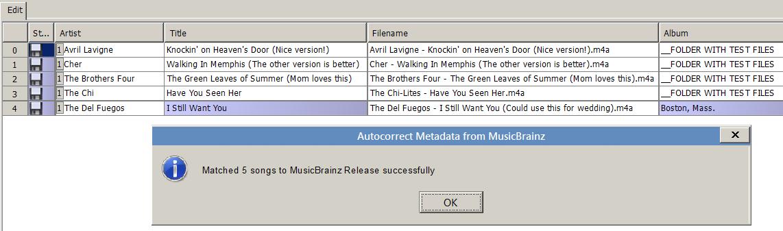 Album equals folder name-2